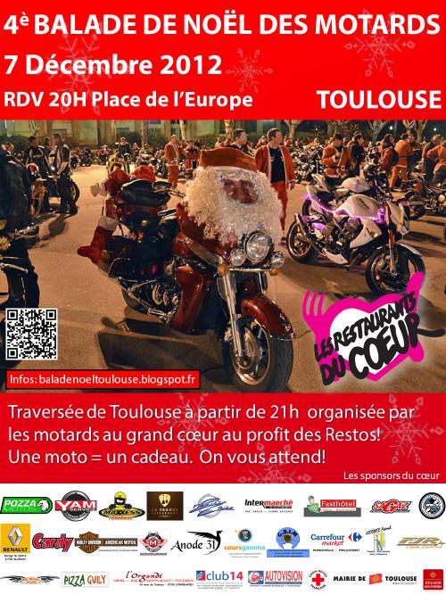 Balade de Noël 2012 à TOULOUSE - 4 ème édition 07/12 Affiche%202012Baladeperenoel